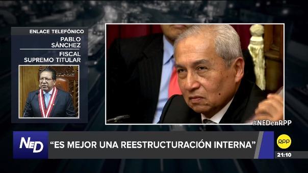 Pablo Sánchez considera que Zoraida Ávalos sería una buena opción para estar al mando de la Fiscalía.