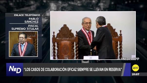 Pablo Sánchez explica qué sucedería si Pedro Chávarry renuncia o es destituido del cargo de fiscal de la Nación.