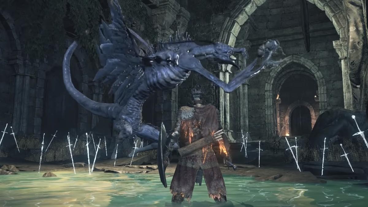 Dark Souls es un juego crudo en líneas generales, pero esto fue ir un poco más allá de sus propios límites.