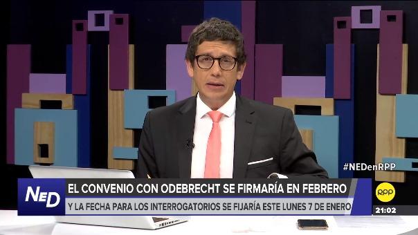 Según los fiscales Vela y Pérez, la decisión del fiscal de la Nación Chávarry de quitarlos de sus cargos, paralizó las fechas para sellar el acuerdo con la empresa Odebrecht.