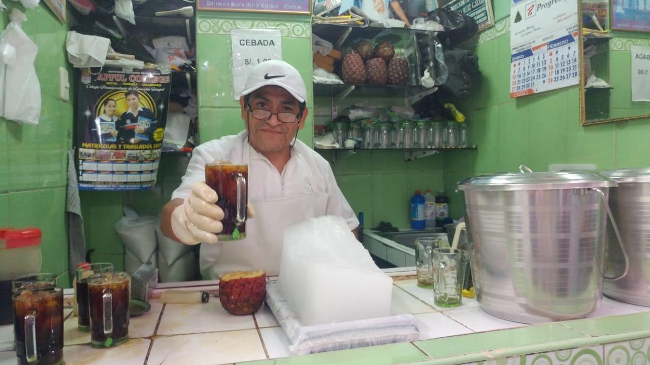 Vendedor de cebada