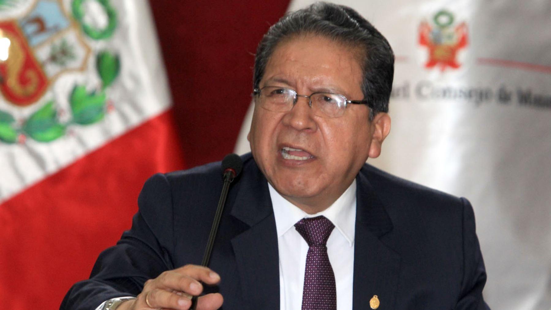 Pablo Sánchez habló en contactó telefónico con el programa Nada está Dicho de RPP.