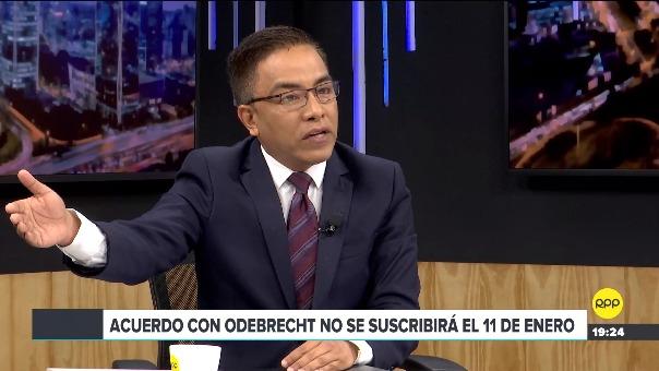 Roberto Vieira y Daniel Abugattás en RRP.