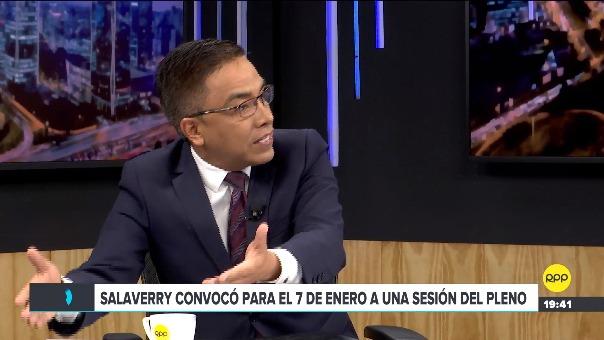 Entrevista con Roberto Vieira y Daiel Abugattás en RPP.