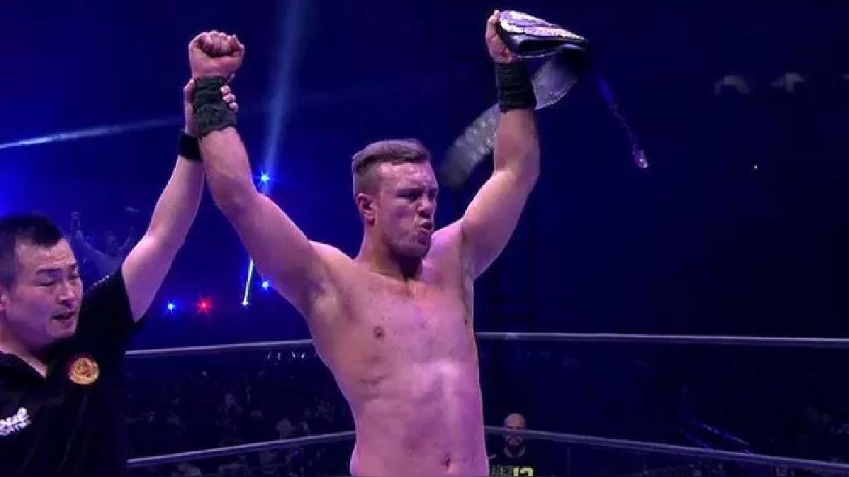 Ospreay derrotó al veterano Kota Ibushi de una manera aplastante.