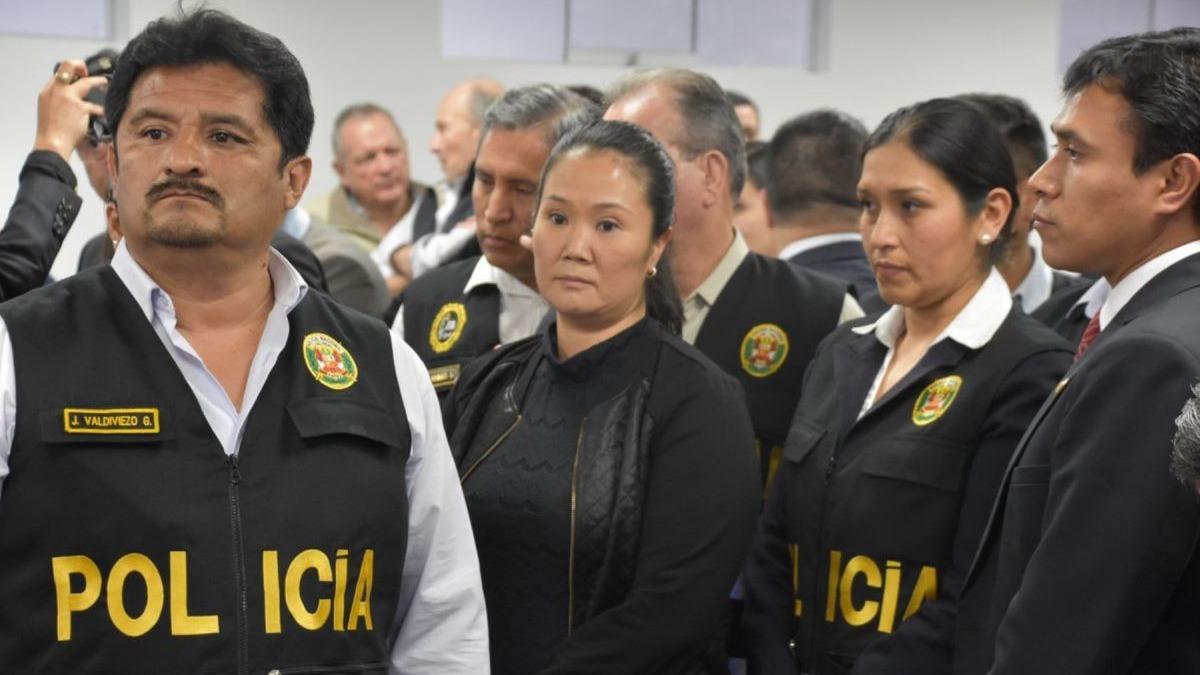 Keiko Fujimori seguirá en prisión