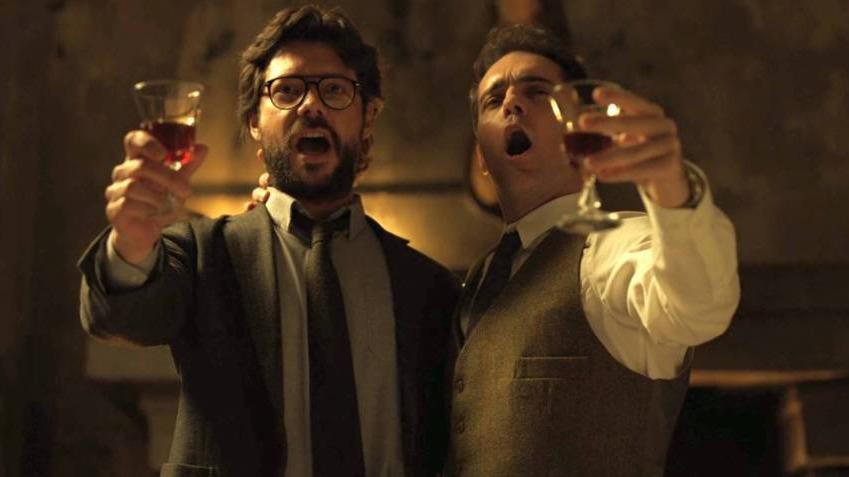 El Profesor y Berlín aparecen en video filtrado del rodaje de la tercera temporada de