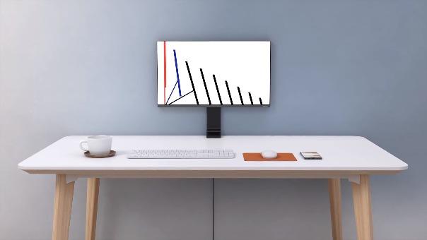 La presentación del Samsung Space Monitor.
