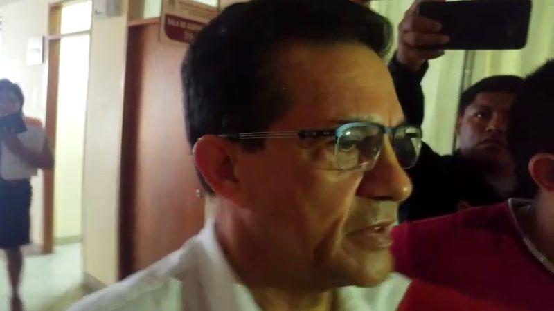 Víctor Antonio Becerril se entregó esta mañana a las autoridades chiclayanas.