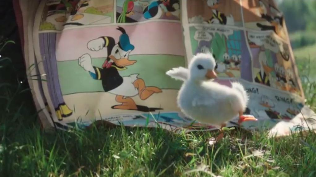Disney presentó un emotivo conmercial por Navidad sobre el Pato Donald.