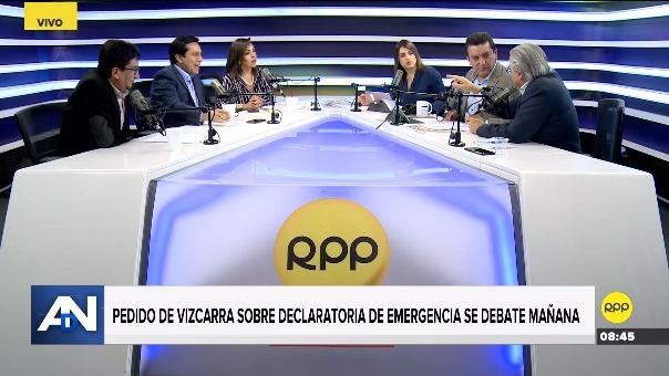 Alejandra Aramayo y Gino Costa discutieron durante entrevista.