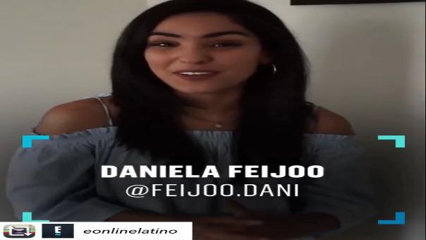 Daniela Feijoo será parte del staff de comentaristas de las redes de E! Latino.