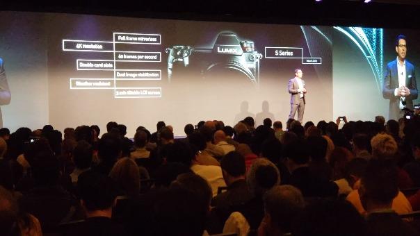 La presentación de Panasonic en CES 2019.
