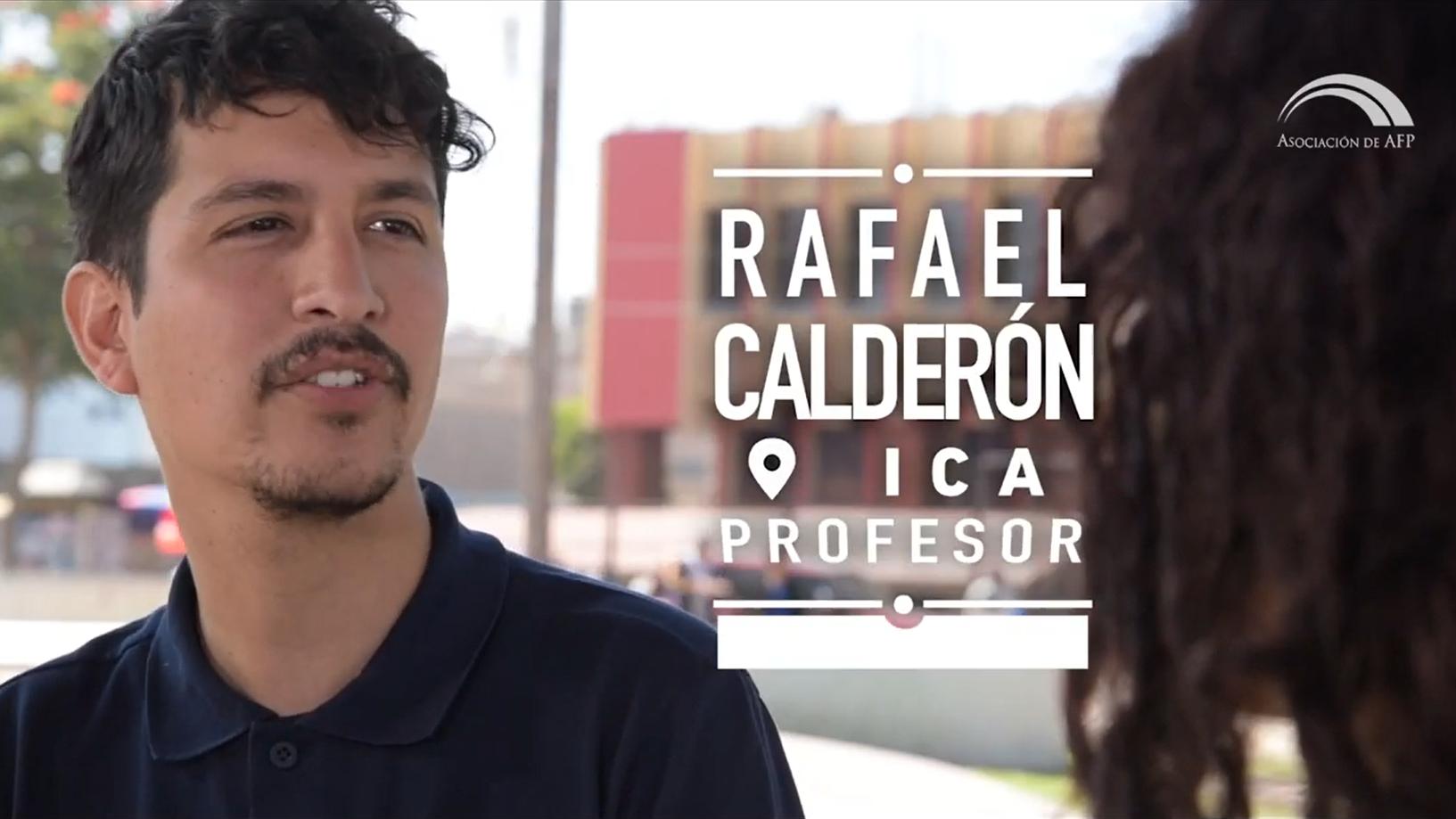 Rafael Calderón teme que si no llega al tiempo mínimo de aportes no recibirá nada.
