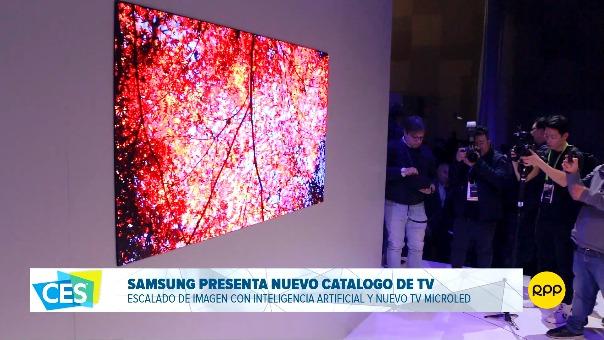 Este video resume una noche de acceso exclusivo a lo que mostrará Samsung en el CES 2019