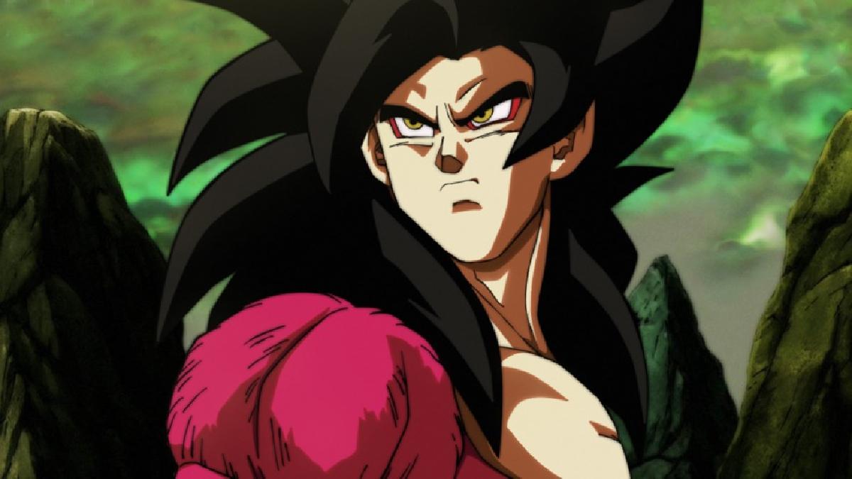 El super saiyajin fase 4 no existe en realidad.