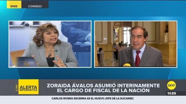 Yonhy Lescano en RPP Noticias.