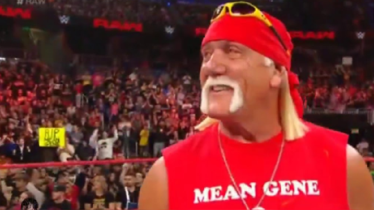 Hulk Hogan regresó a la WWE sólo para rendir tributo al legendario Mean Gene.