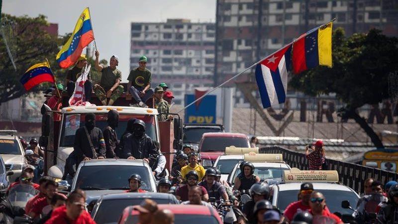 """El mandatario venezolano reiteró que jurará nuevamente al cargo para """"cumplir la voluntad popular""""."""