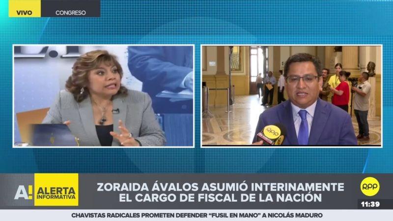 César Vásquez en diálogo con RPP Noticias.