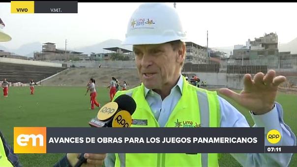 Carlos Neuhaus, presidente del Comité de Organización de Lima 2019.