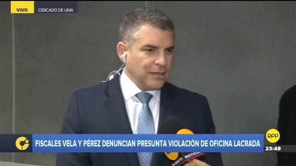 Los fiscales denunciarán a Pedro Chávarry por encubrimiento real y tendrán como prueba los videos de las cámaras de seguridad los cuales expusieron esta noche.