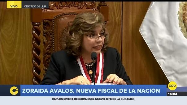 Zoraida Ávalos.