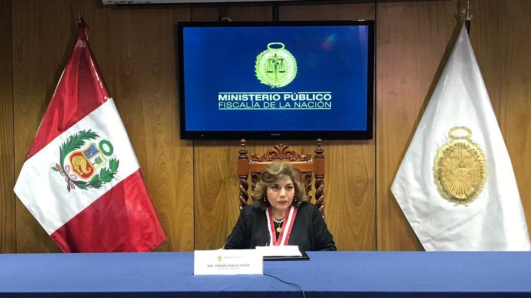 Ávalos brindó su primera conferencia tras ser elegida como titular del Ministerio Público de forma interina.