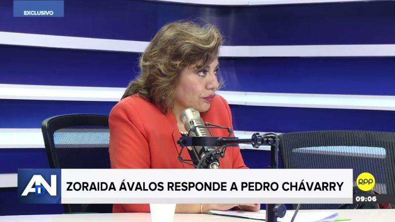 Zoraida Ávalos en Ampliación de Noticias.