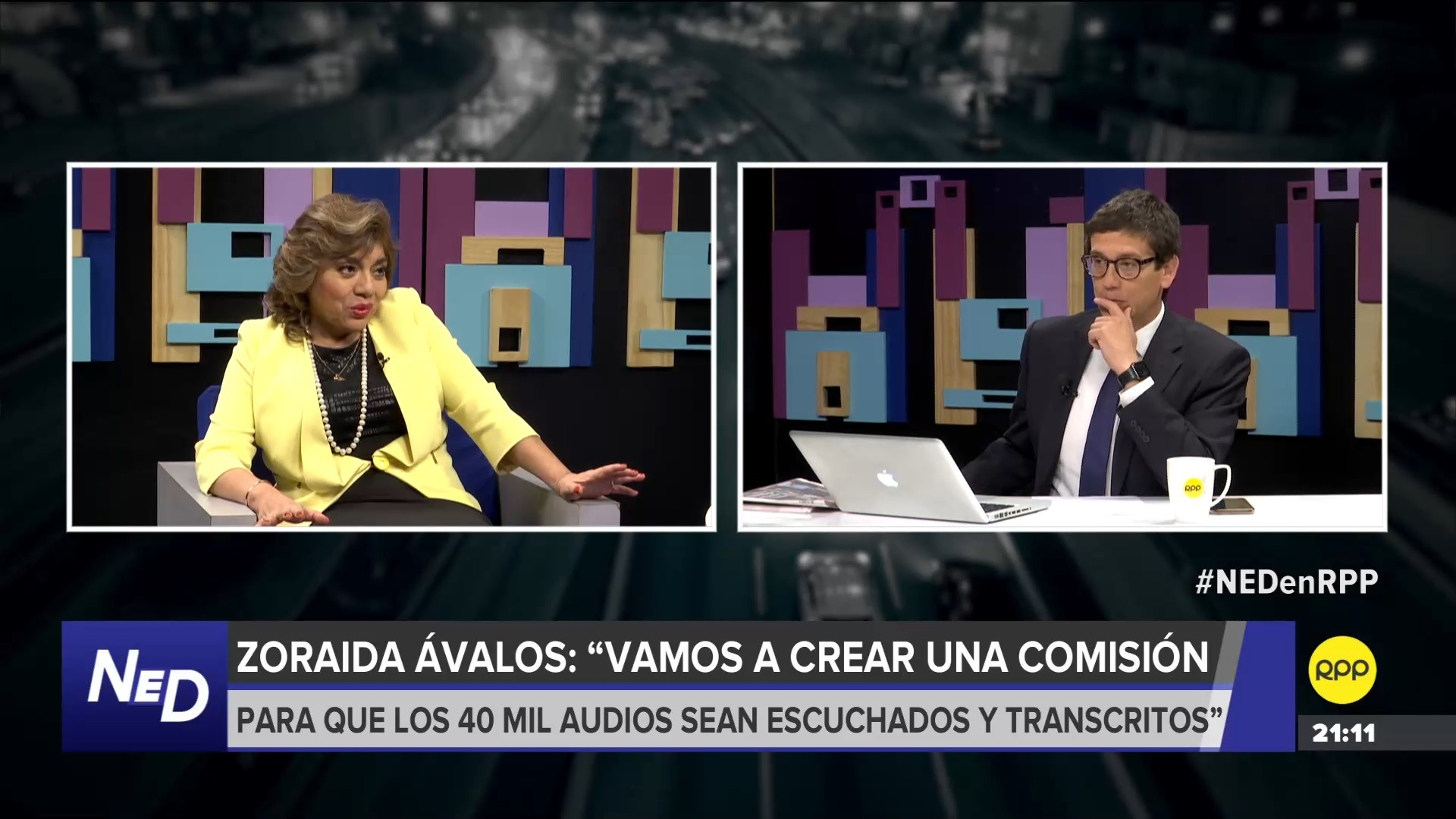 Ávalos aseguró que apoyará a las fiscales que investigan el caso 'Los cuellos blancos del puerto'.