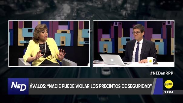 Entrevista con Zoraida Ávalos en RPP.