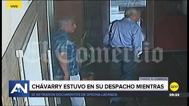 Las imágenes fueron compartidas por el diario El Comercio