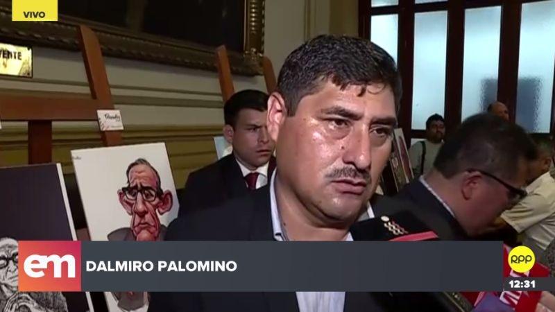 Dalmiro Palomino fue elegido congresista por la región Apurímac.