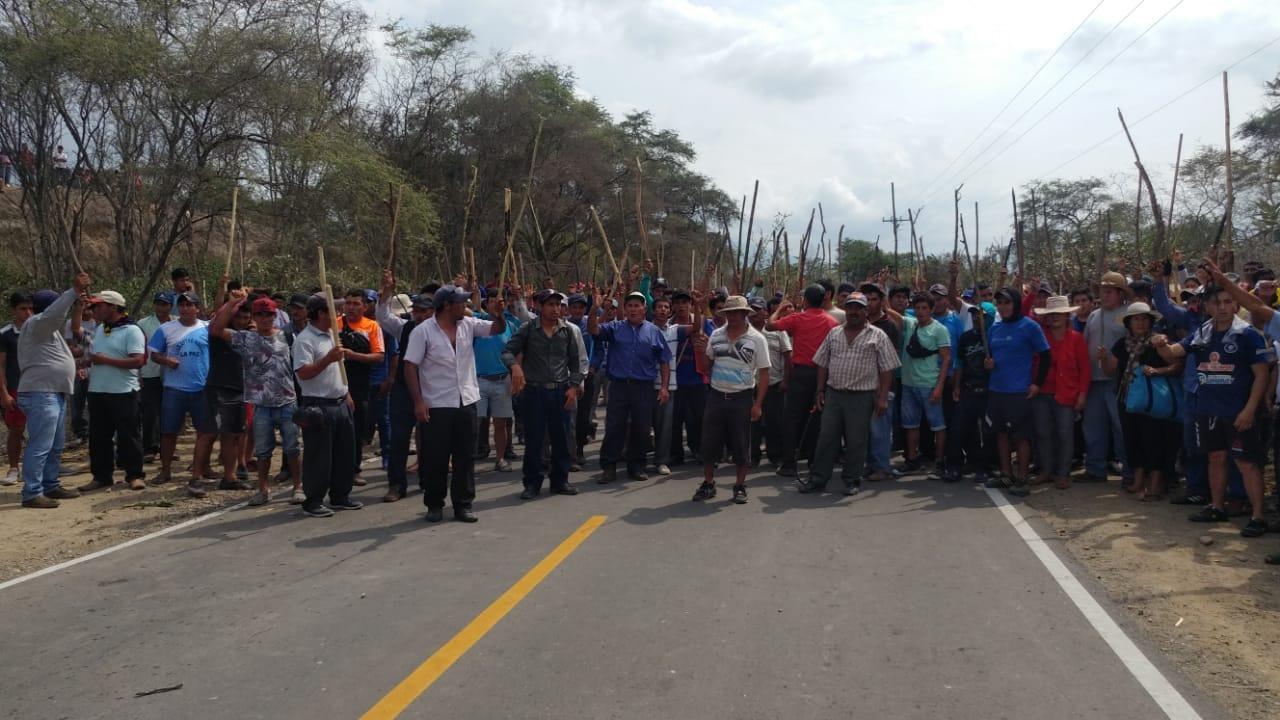 Pobladores de Patapón se niegan a dejar tierras que ocupan desde hace más de 20 años