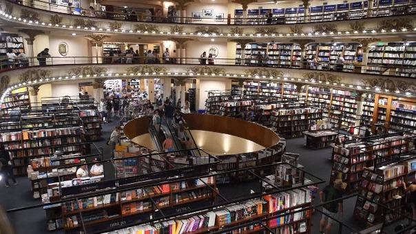 Así es la librería más bella del mundo, El Ateneo Gran Splendid.