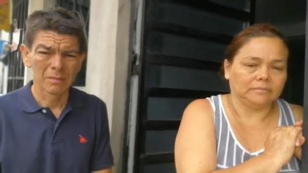 Luis Ramírez , padre del menor atropellado.