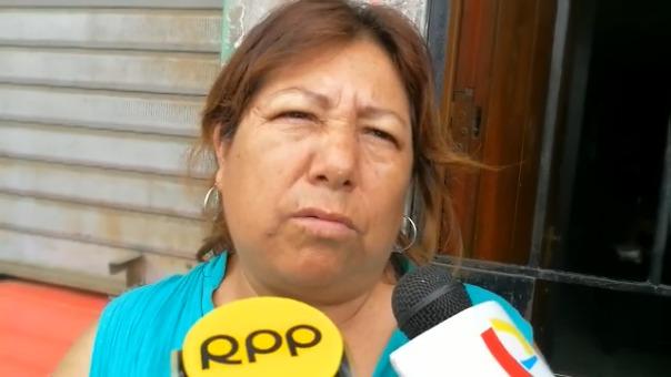 Ciria Vargas Valverde, cuñada del chófer que atropelló al niño ciclista.