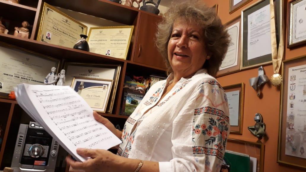Lucy de Mantilla es una de las artistas más queridas en el norte del Perú.