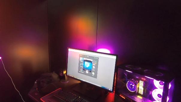 Razer muestra las nuevas integraciones de su sistema de iluminación Chroma.