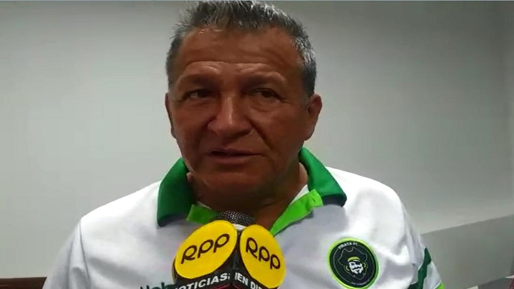 Segundo Aguinaga , presidnete del Pirata Fútbol Club