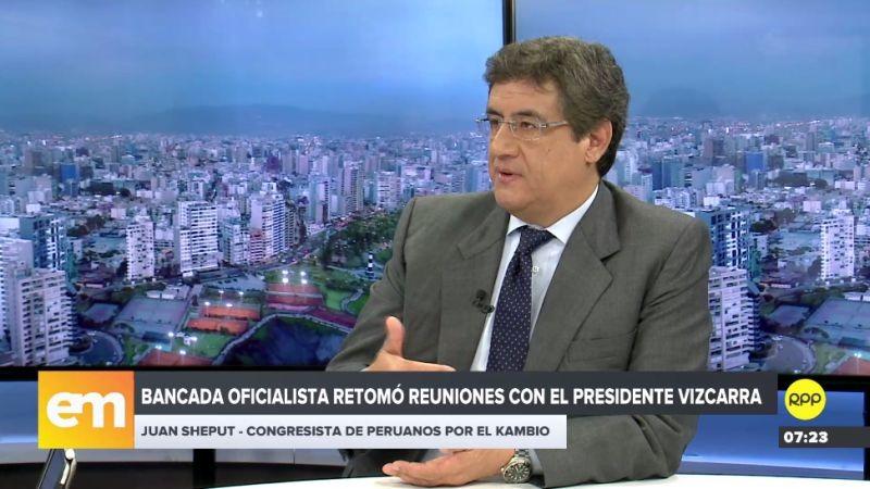 Juan Sheput estuvo esta mañana en RPP Noticias.