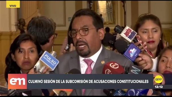 Subcomisión de Acusaciones Constitucionales aprobó 4 denuncias constitucionales contra Pedro Chávarry.