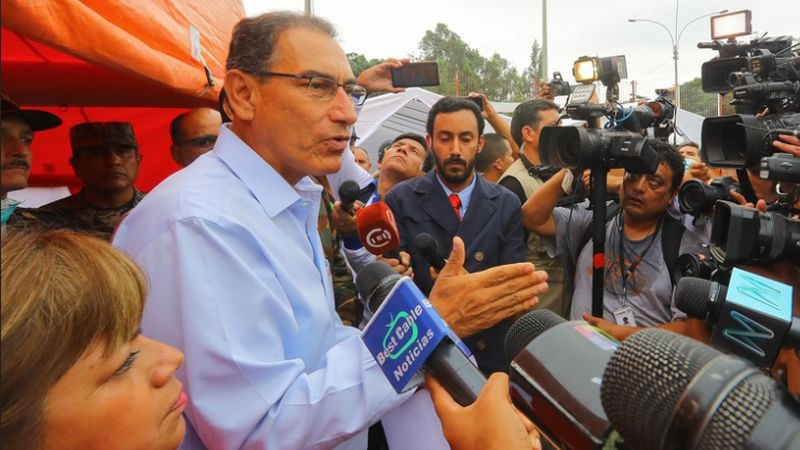 Martín Vizcarra se mostró dispuesto a que se investigue el caso en el Congreso.