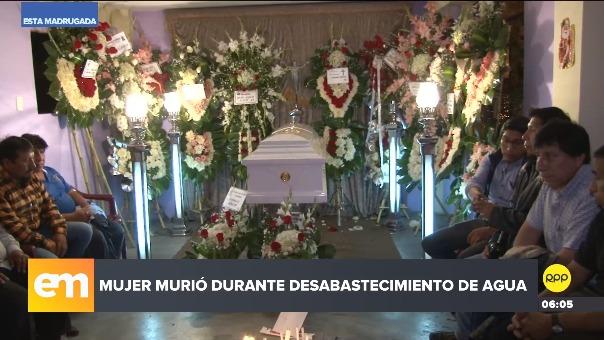 La mujer fue velada en su vivienda en San Juan de Lurigancho.