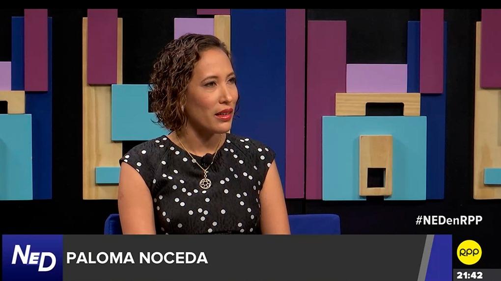 La congresista Paloma Noceda estuvo en el programa 'Nada está Dicho' de RPP.