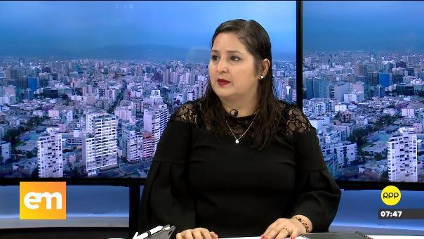 Tamar Arimborgo en entrevista con RPP Noticias.