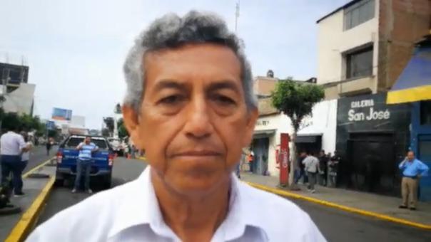 Edilberto Navarro, gerente general de la Municipalidad de Trujillo.