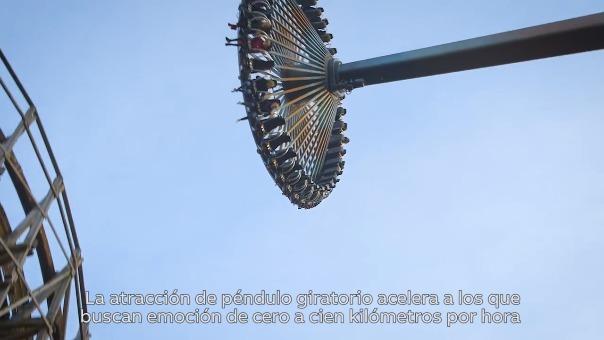 En este video se explica cómo es el funcionamiento del gigantesco péndulo.