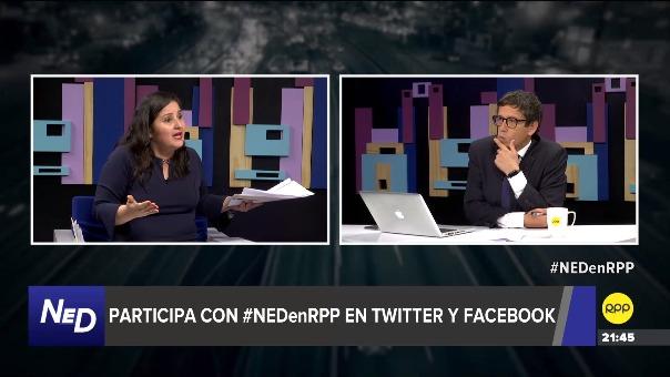 Entrevista con la congresista Tamar Arimborgo en RRP.