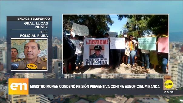 El general Lucas Núñez, jefe policial de Piura, dio información sobre el ataque y el caso.